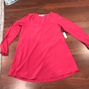Lovers + Friends NWT coral long sleeve dress